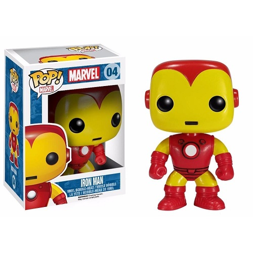 Funko Pop! Marvel 04: Iron Man (Retro)