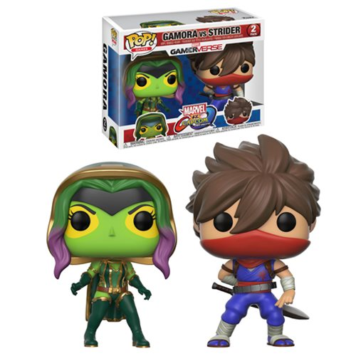 Funko Pop! Games: MvC - Gamora & Strider 2 Pack