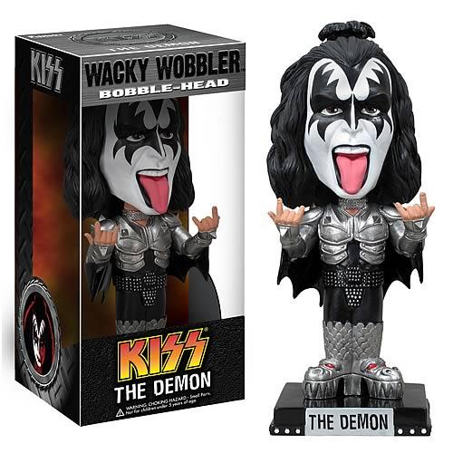 Wacky Wobbler: KISS - The Demon