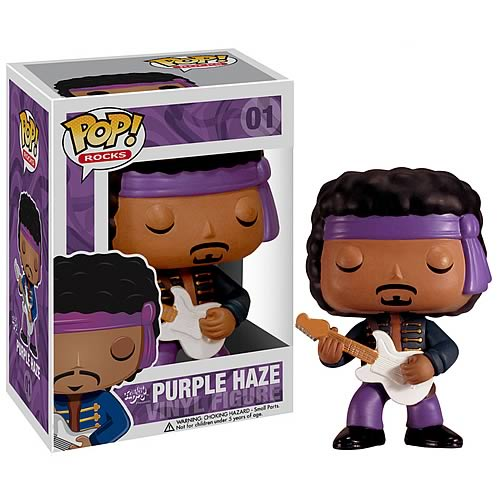 Funko Pop! Rocks 01: Purple Haze