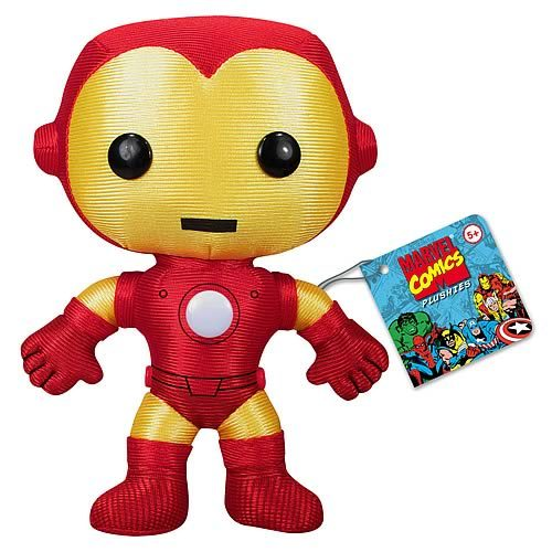 Plush: Marvel - Classic Iron Man