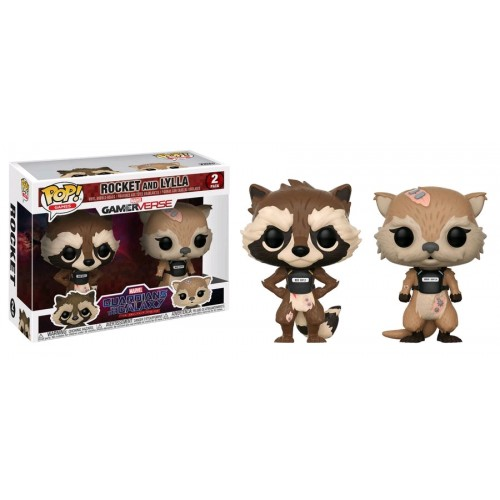 Funko Pop! Games: Guardians of the Galaxy - Rocket & Lylla [2 Pack]