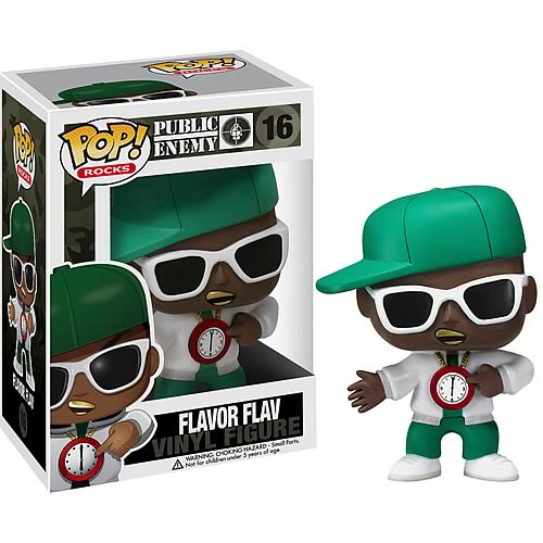 Funko Pop! Rocks 16: Public Enemy - Flavor Flav