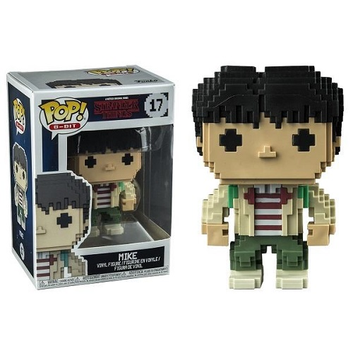 Funko Pop! 8-Bit 17: Stranger Things S3 - Mike