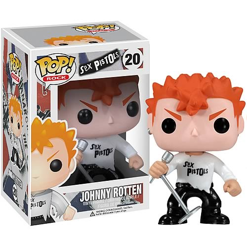 Funko Pop! Rocks 20: Johnny Rotten - Sex Pistols