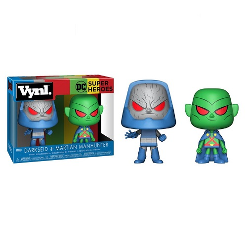 Vynl: DC Heroes - Martian Manhunter and Darkseid [2 Pack]