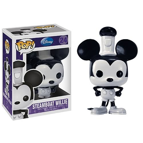 Funko Pop! Disney 24: Steamboat Willie