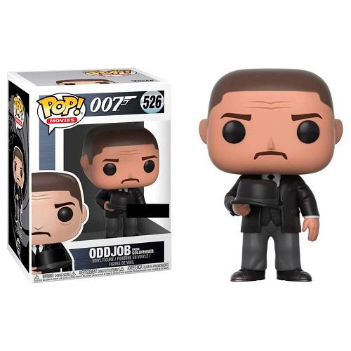 Funko Pop! Movies 526: James Bond - Oddjob [Goldfinger Throwing Hat] (iEx)