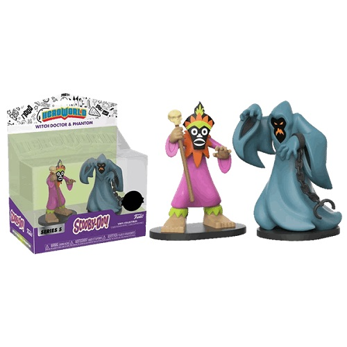 Hero World: Scooby Doo - Phantom & Witch Doctor [2 Pack] (iEx)