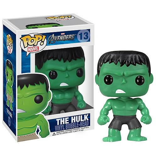 Funko Pop! Marvel 13: Avengers - The Hulk