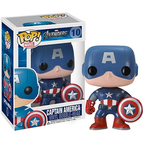 Funko Pop! Marvel 10: Avengers - Captain America