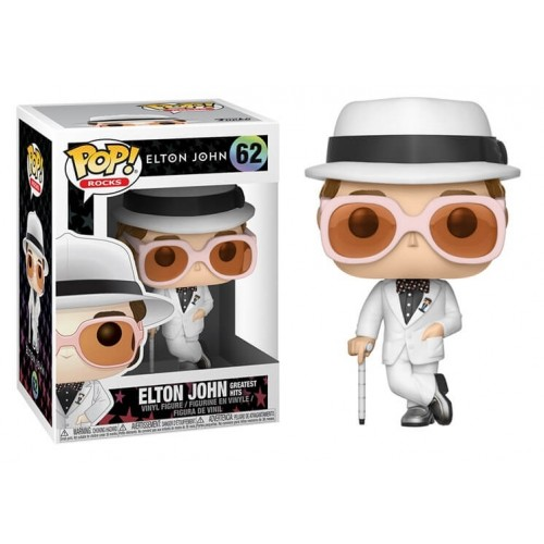 Funko Pop! Rocks 62: Elton John (Greatest Hits)