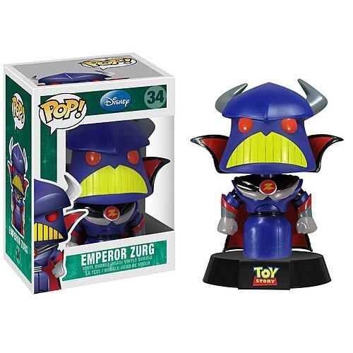 Funko Pop Disney 34 Toy Story Emperor Zurg Simply Toys Beta