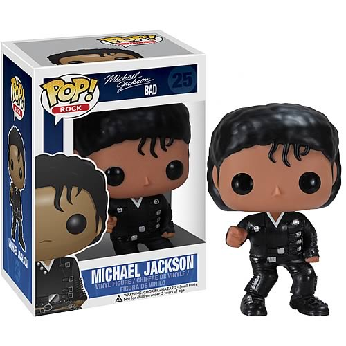 Funko Pop! Rocks 25: Bad – Michael Jackson