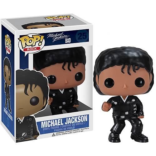 Funko Pop! Rocks 25: Bad – Michael Jackson