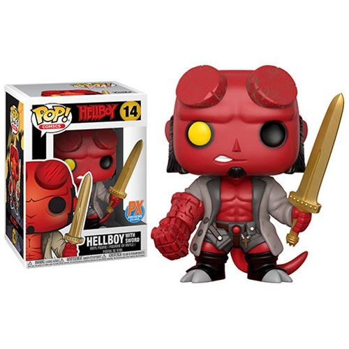 Funko Pop! Comics 14: Hellboy - Hellboy with Sword (iEx)