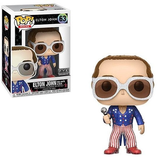 Funko Pop! Rocks 63: Elton John Red