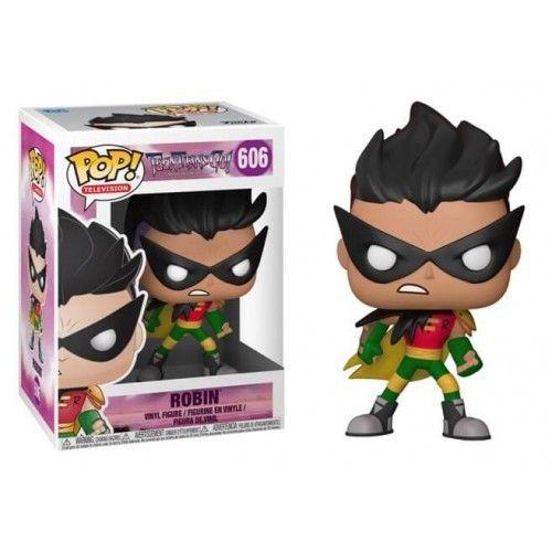 Funko Pop! TV 606: Teen Titans Go – Robin