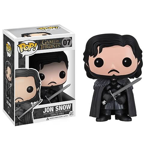Funko Pop! GOT 07:  Game of Thrones - Jon Snow