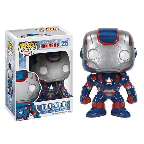 Funko Pop! Marvel 25: Iron Man 3 - Iron Patriot