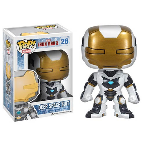 Funko Pop! Marvel 26: Iron Man 3 - Deep Space Suit