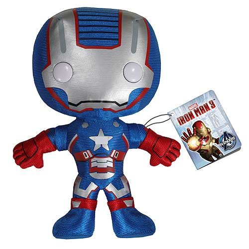 Plush: Iron Man 3 - Iron Patriot