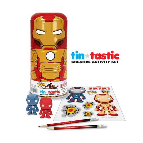 Tin-Tastic Creative Activity Set: Iron Man 3 – Iron Man