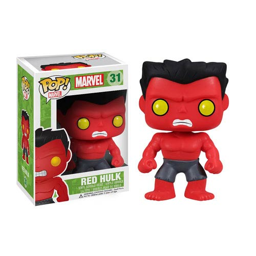 Funko Pop! Marvel 31: Red Hulk