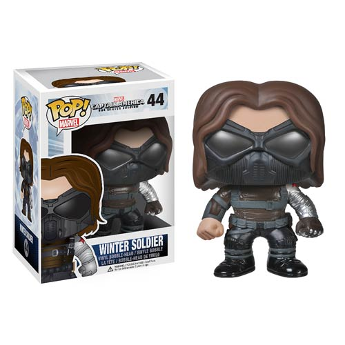 Funko Pop! Marvel 44: The Winter Soldier – Winter Soldier