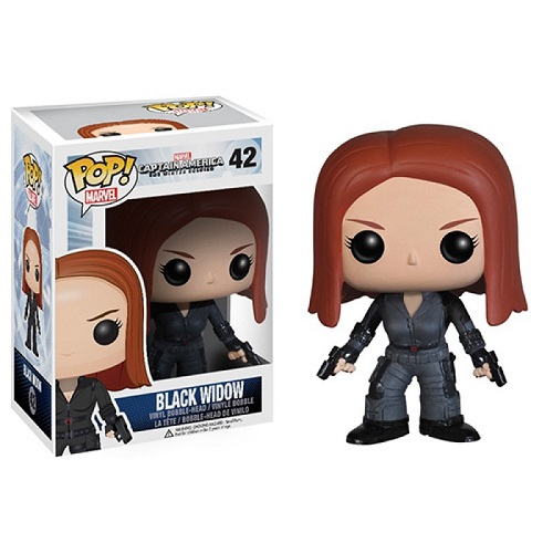 Funko Pop! Marvel 42: The Winter Soldier – Black Widow