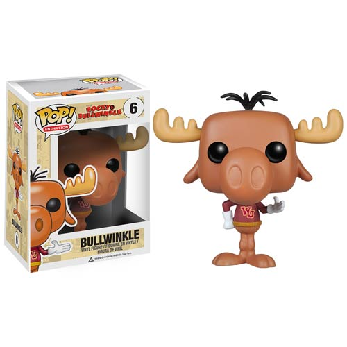 Funko Pop! Animation 06: The Rocky and Bullwinkle – Bullwinkle