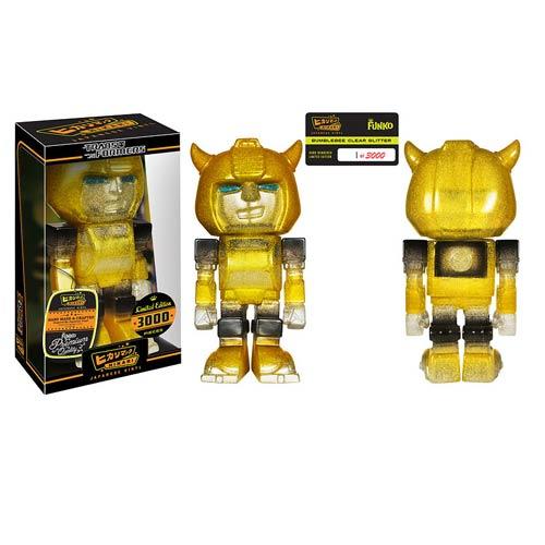 Hikari: Transformers - Bumblebee [Clear Glitter Sofubi]