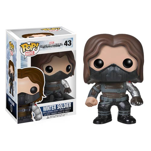 Funko Pop! Marvel 43: The Winter Soldier - Winter Soldier (Unmasked)