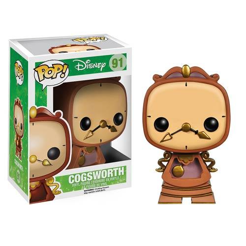 Funko Pop! Disney 91: Beauty and the Beast – Cogsworth
