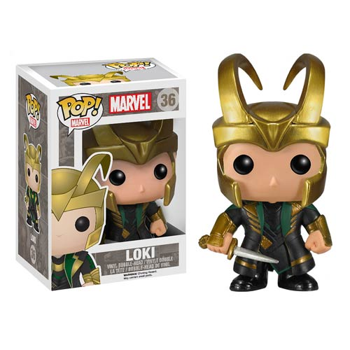 Funko Pop! Marvel (Vinyl) 36: Thor 2 Loki with Helmet