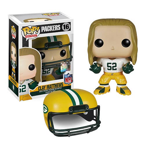 Funko Pop! Football 16: NFL - Clay Matthews