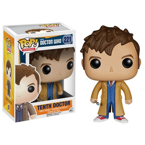 Funko Pop! TV 221: Dr Who - Tenth Doctor