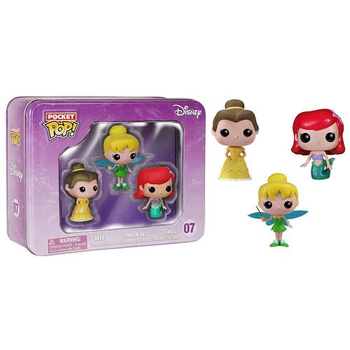 Pocket Pop! Kaychain: 07: Disney Princess Mini