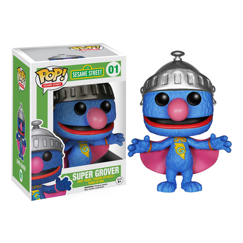 Funko Pop! Sesame Street 01: Super Grover