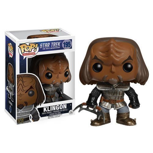 Funko Pop! TV 195: Star Trek The Next Generation - Klingon