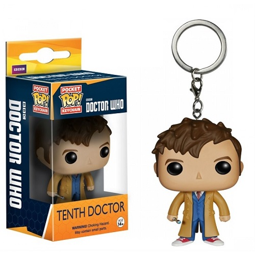 Pocket Pop! Key Chain: Doctor Who -  Tenth Docto