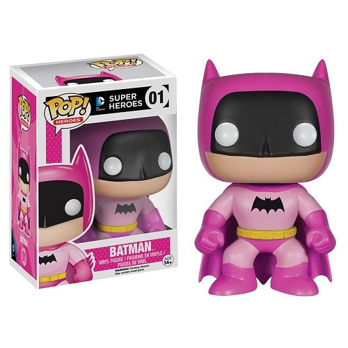 Funko Pop! Heroes 01: Pink Batman [75th Anniversary] (EE Ex)