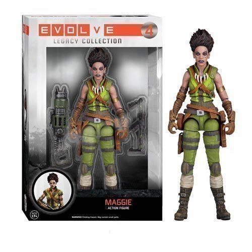 Action Figure 04: Evolve Legacy Action - Maggie