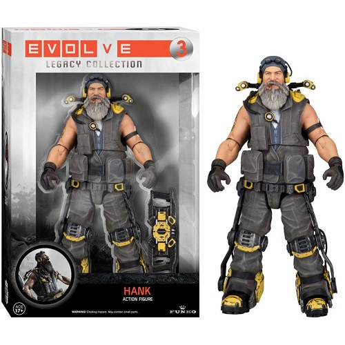 Evolve Legacy Action 03: Hank (Action Figure)