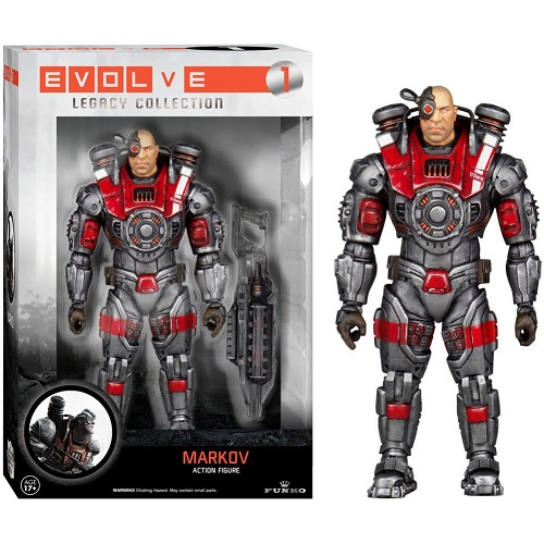 Evolve Legacy Action 01: Markov (Action Figure)