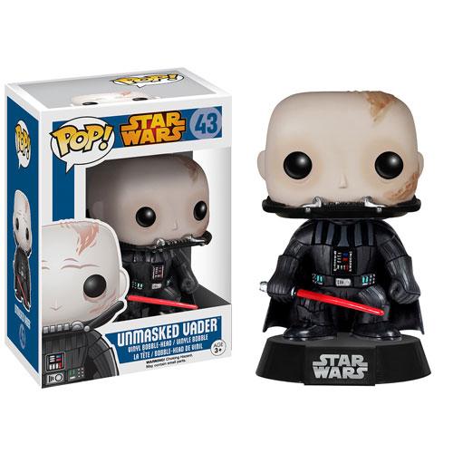 Funko Pop! Star Wars 43: Unmasked Vader
