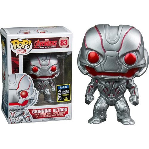 Funko Pop! Marvel 83: Age of Ultron - Grinning Ultron (STGCC)
