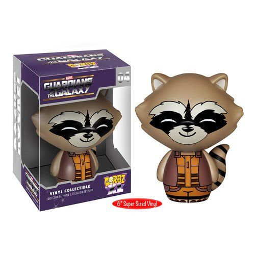 Dorbz XL 04: Guardians of the Galaxy - Rocket Raccoon 6""