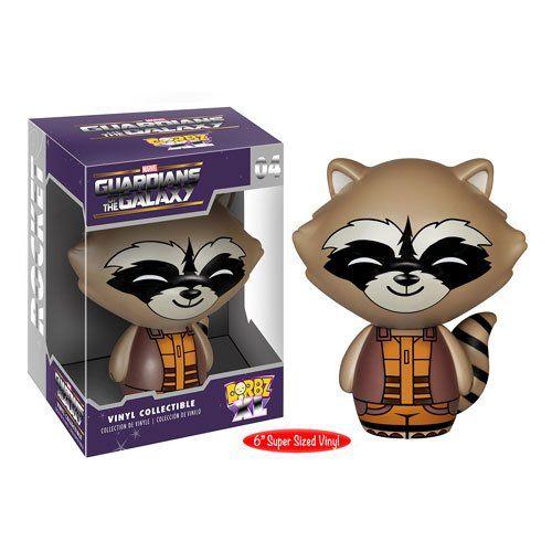 "Dorbz XL 04: Guardians of the Galaxy - Rocket Raccoon 6"""