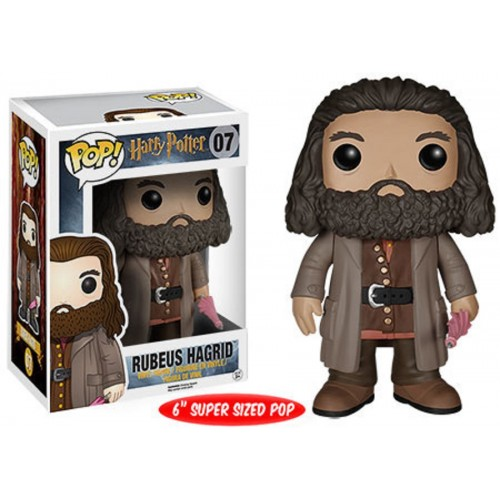 Funko Pop! Movies 07: Harry Potter - Rubeus Hagrid 6""